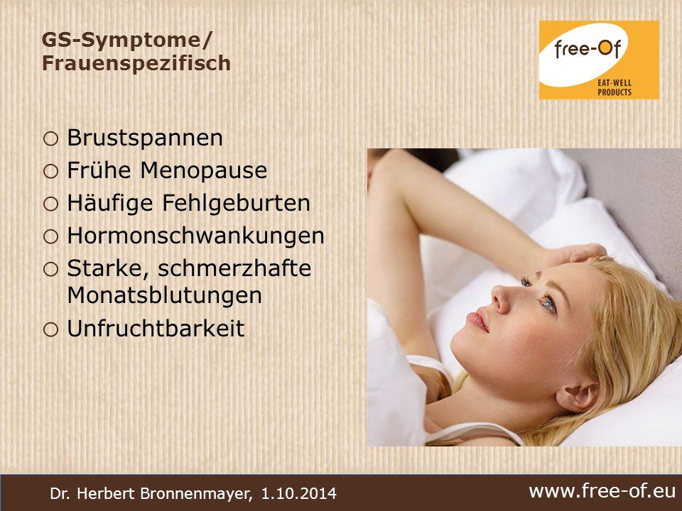 GS-Symptome/ Frauenspezifisch