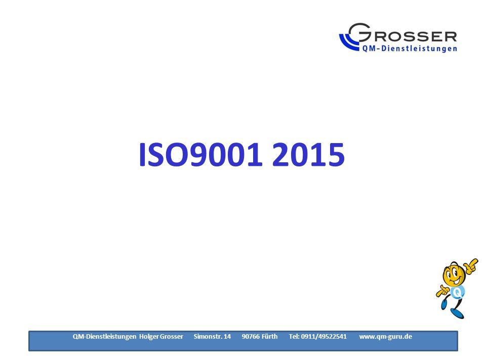 Hinweise der ISO Organisation