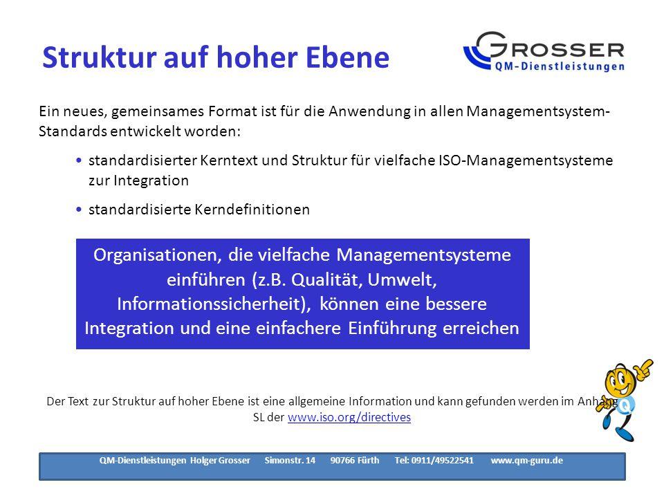 Struktur der ISO 9001:2015 1/6.