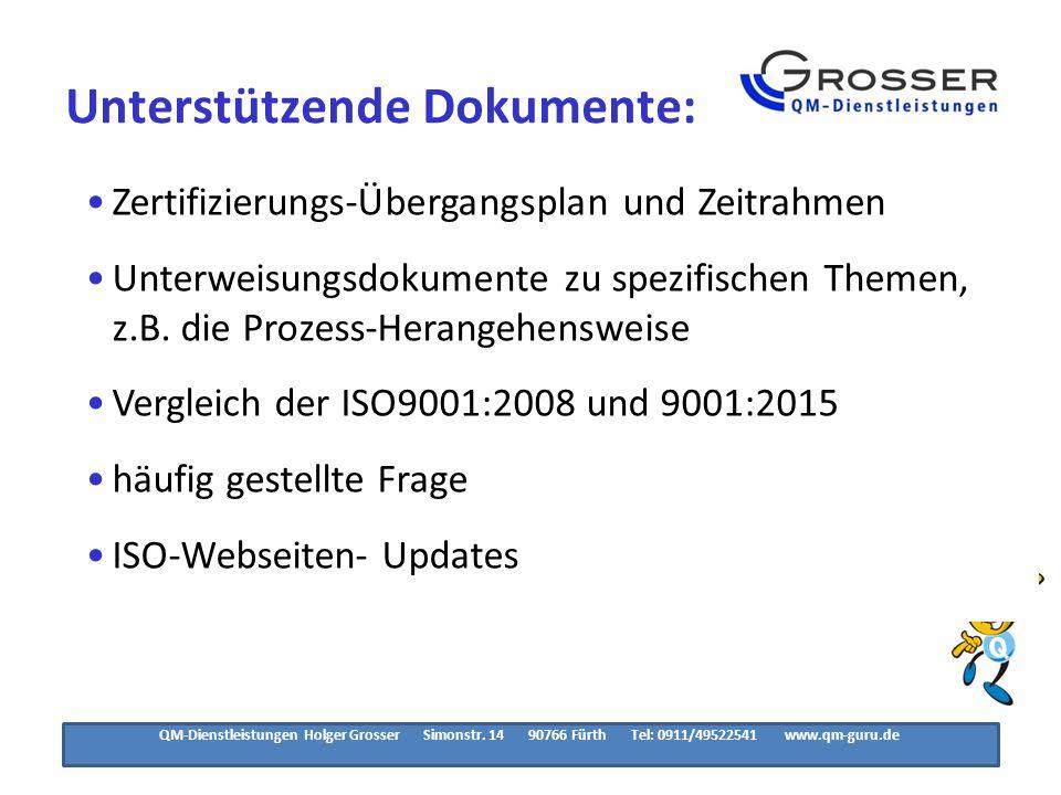 ISO9001:2015 Zeitlicher Ablauf