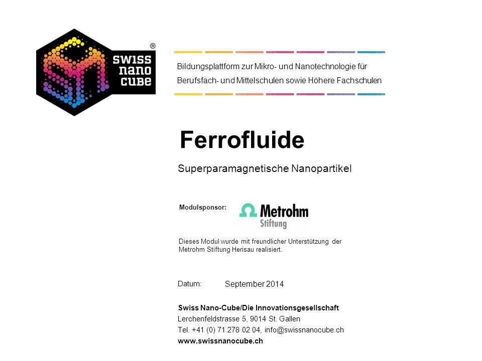 Superparamagnetische Nanopartikel