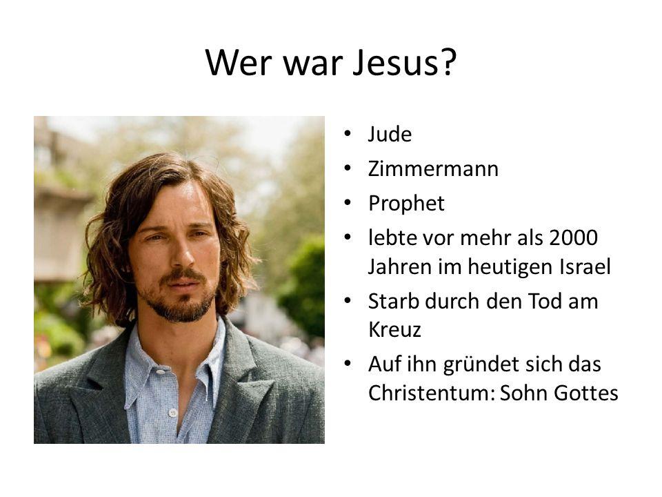 Wer war Jesus Jude Zimmermann Prophet