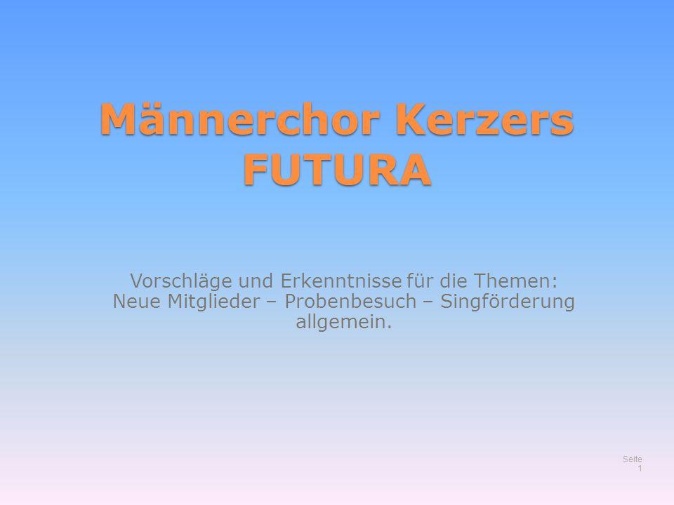 Männerchor Kerzers FUTURA