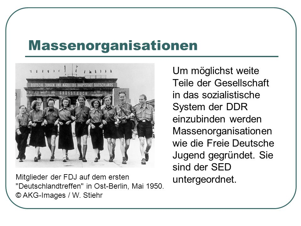 Massenorganisationen