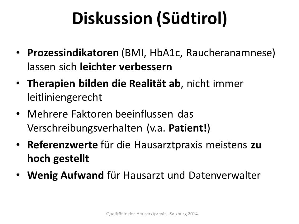 Diskussion (Südtirol)