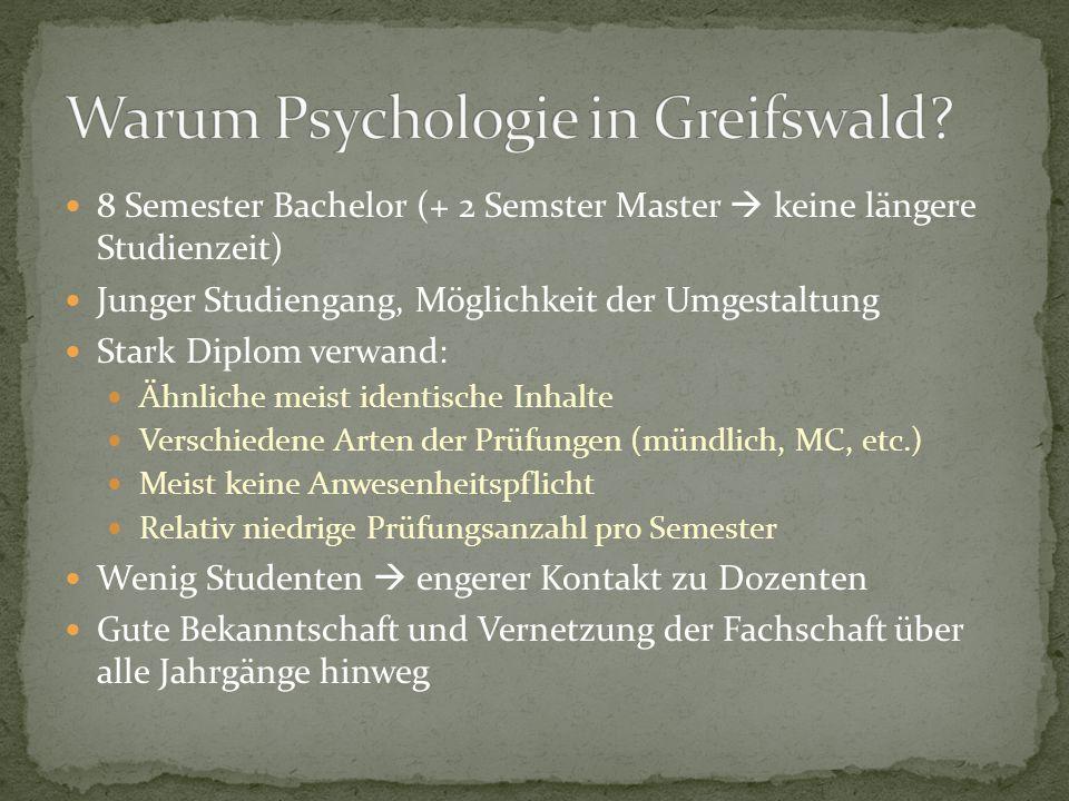 Warum Psychologie in Greifswald