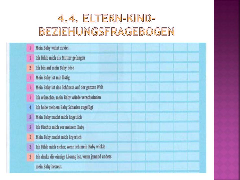 4.4. Eltern-Kind-Beziehungsfragebogen