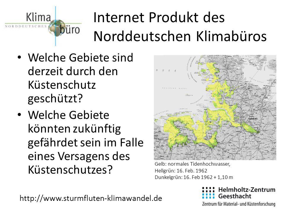 Internet Produkt des Norddeutschen Klimabüros