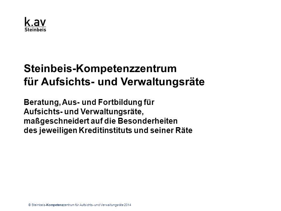 UNSERE VISION Die Aufsichts- & Verwaltungsräte von Banken und Sparkassen.