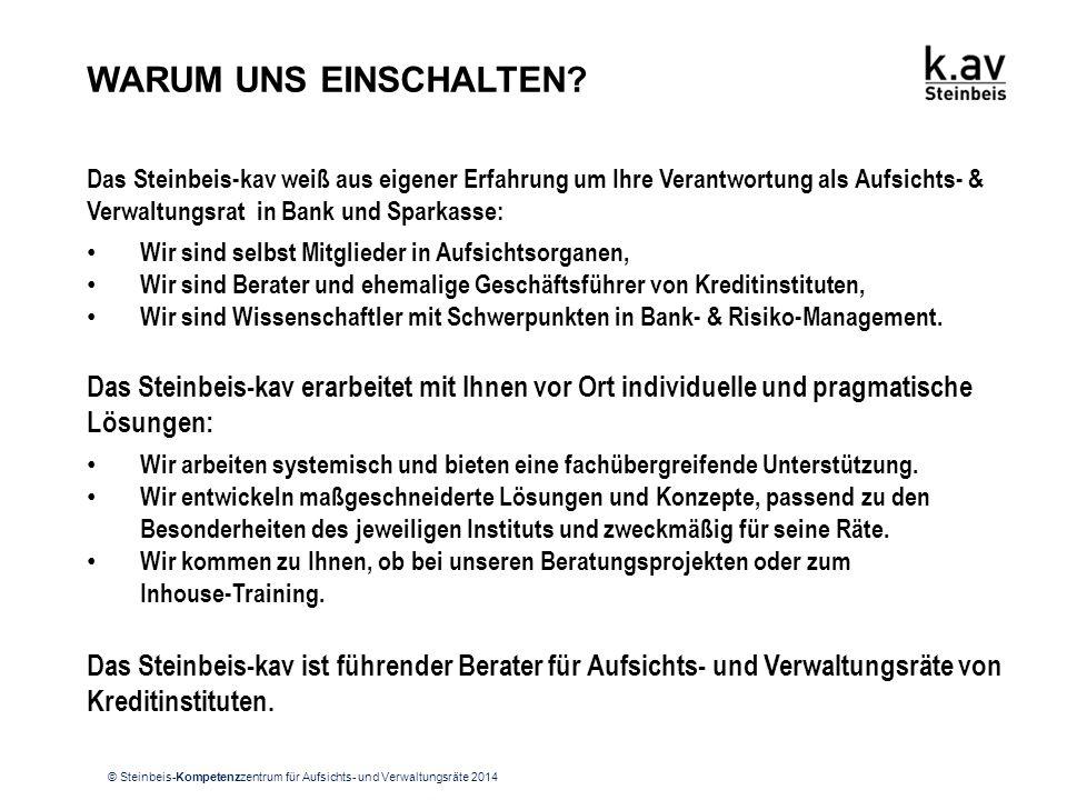 KONTAKT Steinbeis-Kompetenzzentrum für Aufsichts- und Verwaltungsräte Kapuzinerstraße 10 76530 Baden-Baden.