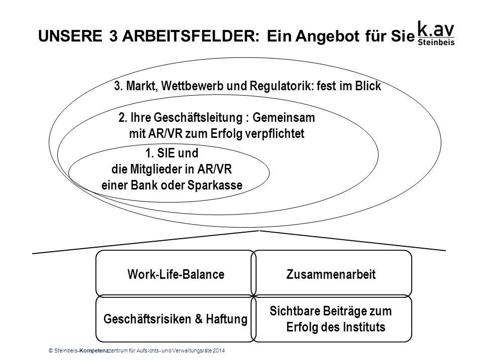 ARBEITSFELD NR. 1: Sie als AR/VR einer Bank oder Sparkasse (Seite 1)