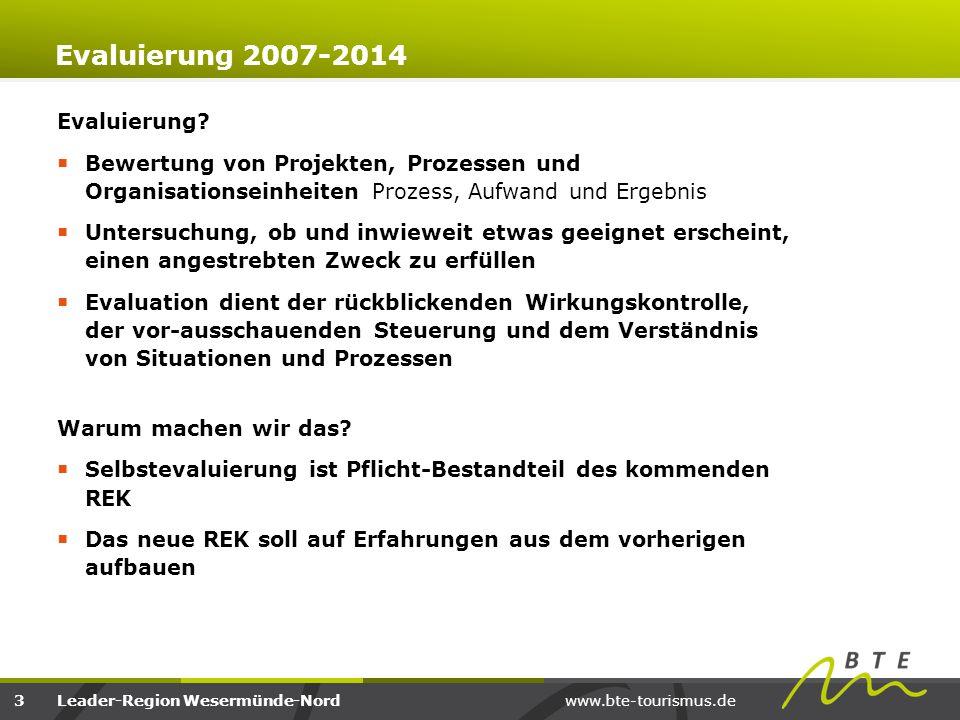 Evaluierung 2007-2014 Evaluierung