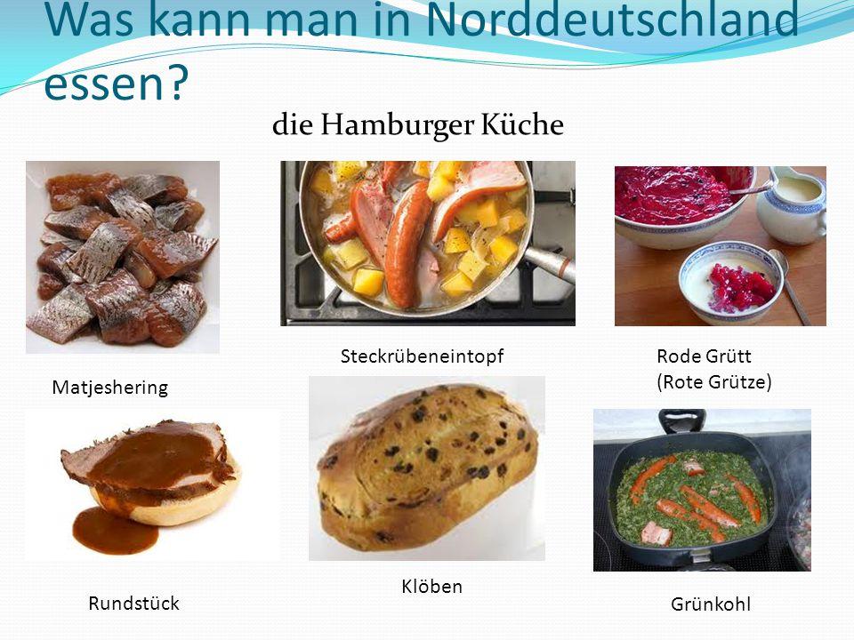 Was kann man in Norddeutschland essen