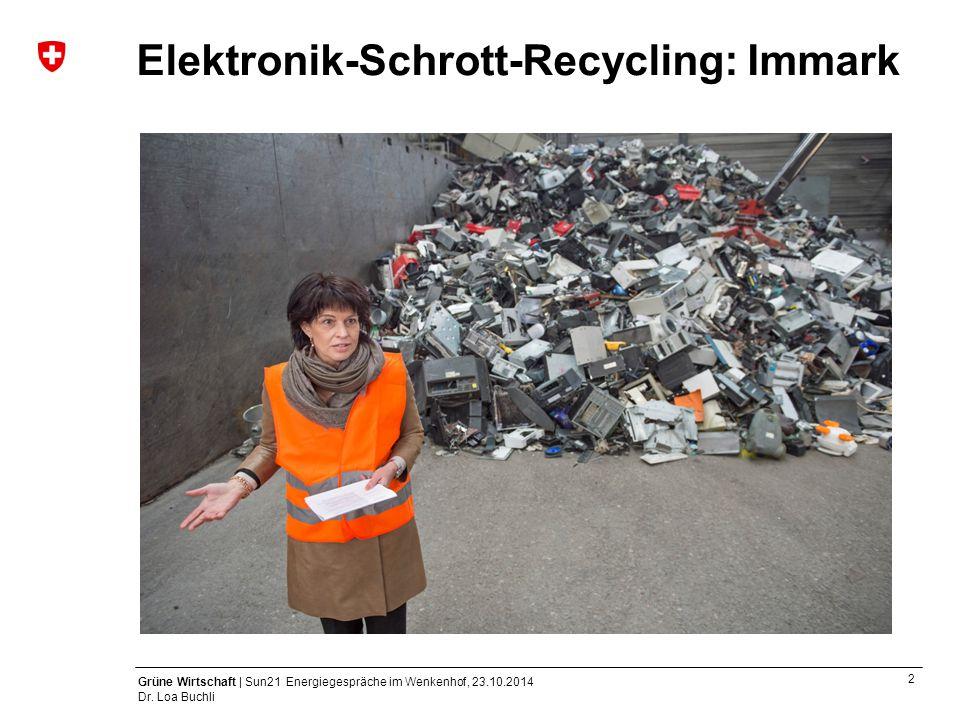 Elektronik-Schrott-Recycling: Immark