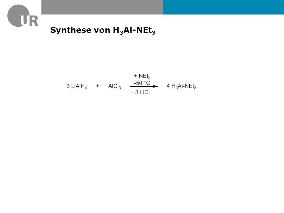 Synthese von H3Al-NEt3