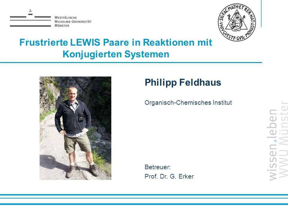 Frustrierte LEWIS Paare in Reaktionen mit Konjugierten Systemen