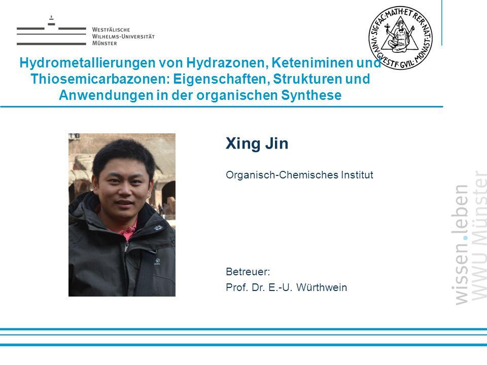 Hydrometallierungen von Hydrazonen, Keteniminen und Thiosemicarbazonen: Eigenschaften, Strukturen und Anwendungen in der organischen Synthese