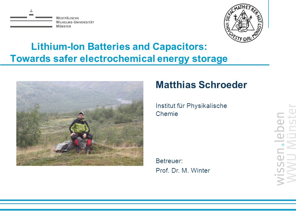 Lithium-Ion Batteries and Capacitors: Towards safer electrochemical energy storage
