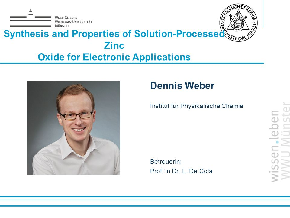 Synthesis and Properties of Solution-Processed Zinc Oxide for Electronic Applications