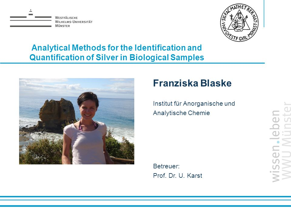 Analytical Methods for the Identification and Quantification of Silver in Biological Samples