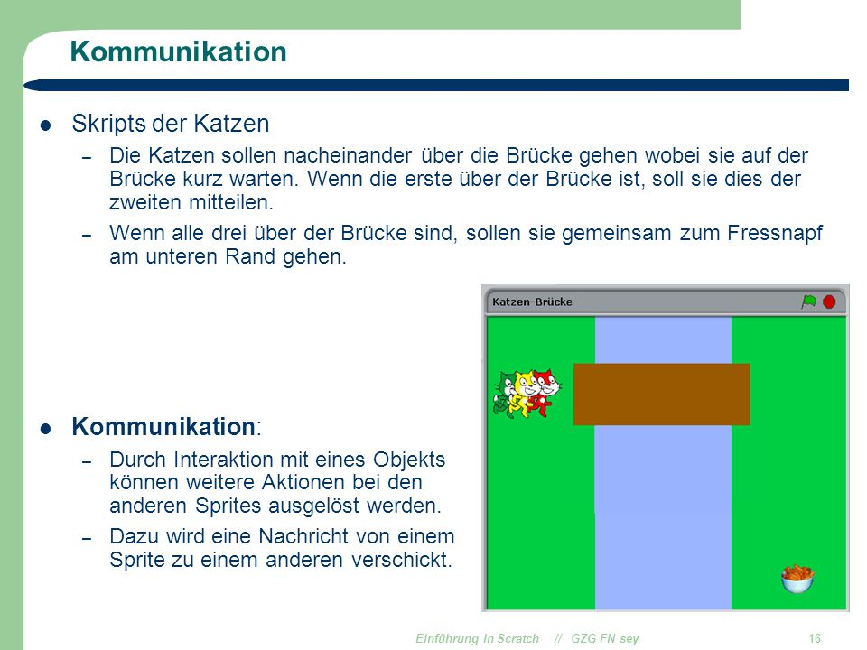 Einführung in Scratch // GZG FN sey