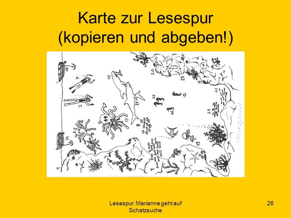 Karte zur Lesespur (kopieren und abgeben!)