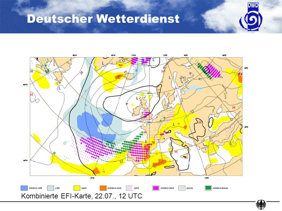 Kombinierte EFI-Karte, 22.07., 12 UTC