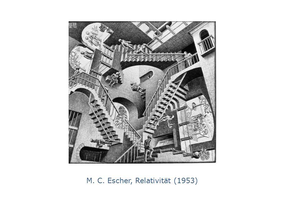 M. C. Escher, Relativität (1953)