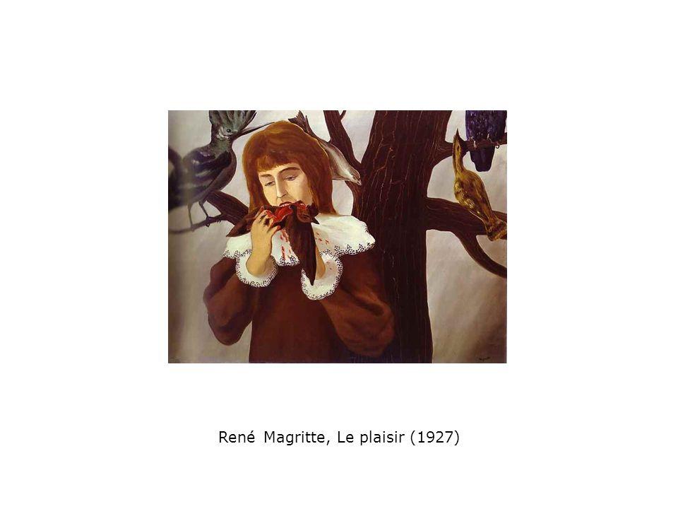 René Magritte, Le plaisir (1927)
