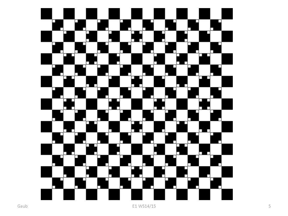 Experimente : Grün/Rot drehende Schwarz/Weiss Scheine drehende Spiralscheibe Gaub E1 WS14/15