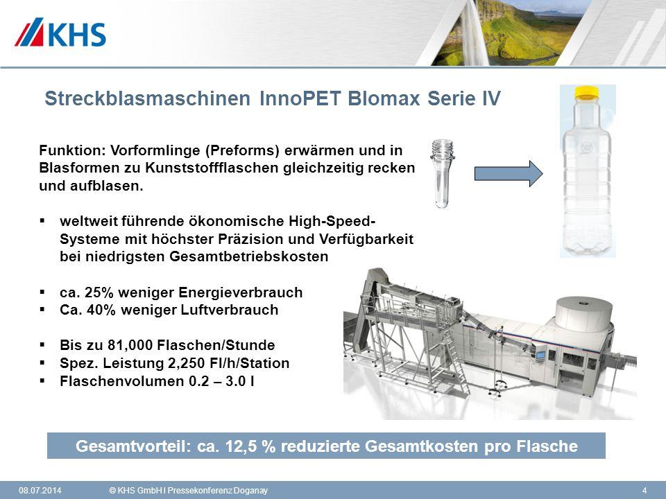 Streckblasmaschinen InnoPET Blomax Serie IV