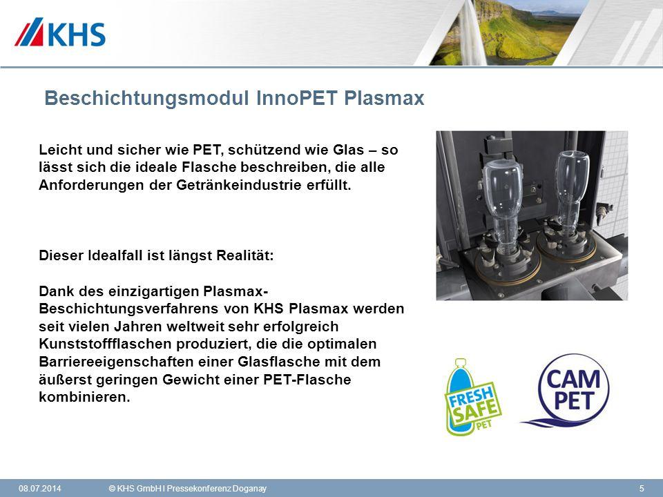 Beschichtungsmodul InnoPET Plasmax