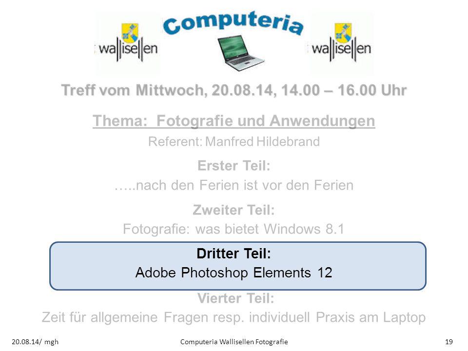 Thema: Fotografie und Anwendungen