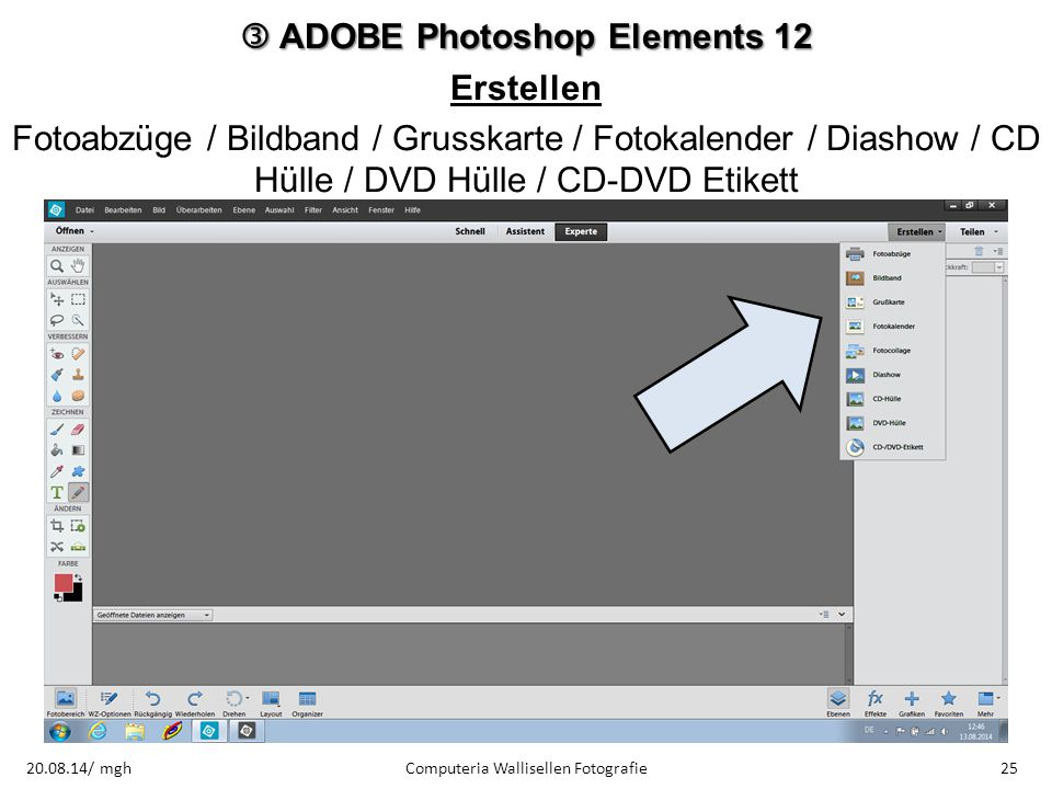  ADOBE Photoshop Elements 12 Erstellen