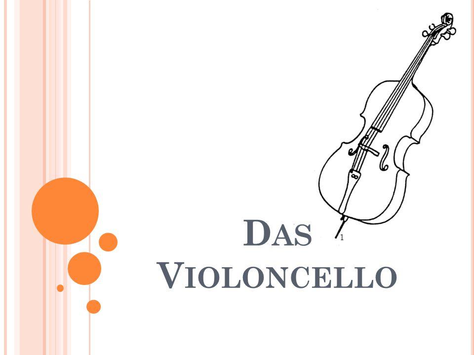 Das Violoncello 1