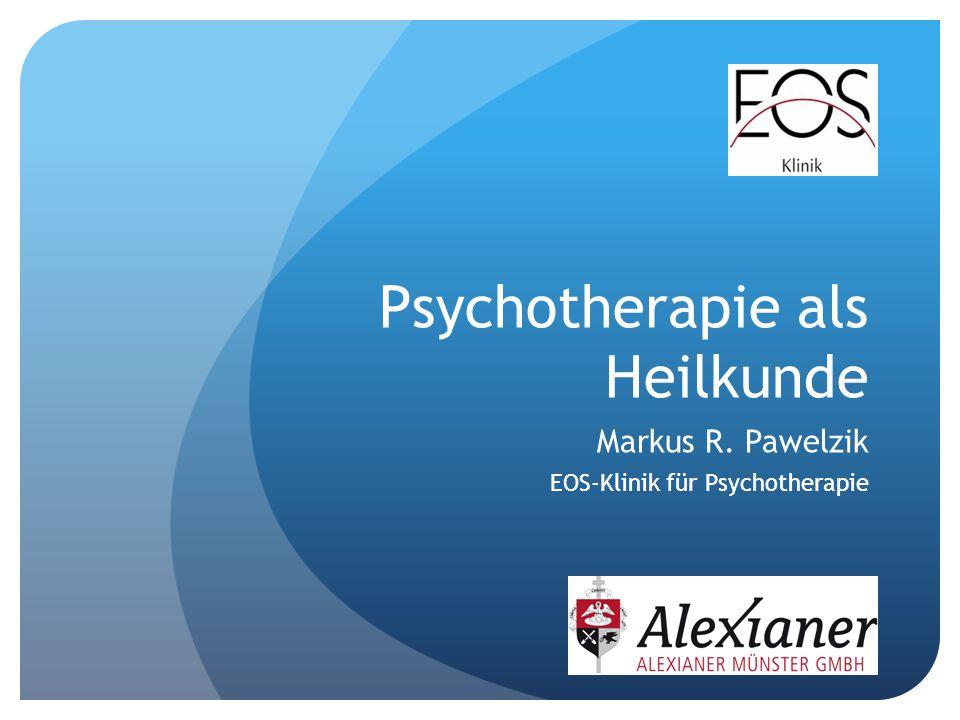 Psychotherapie als Heilkunde