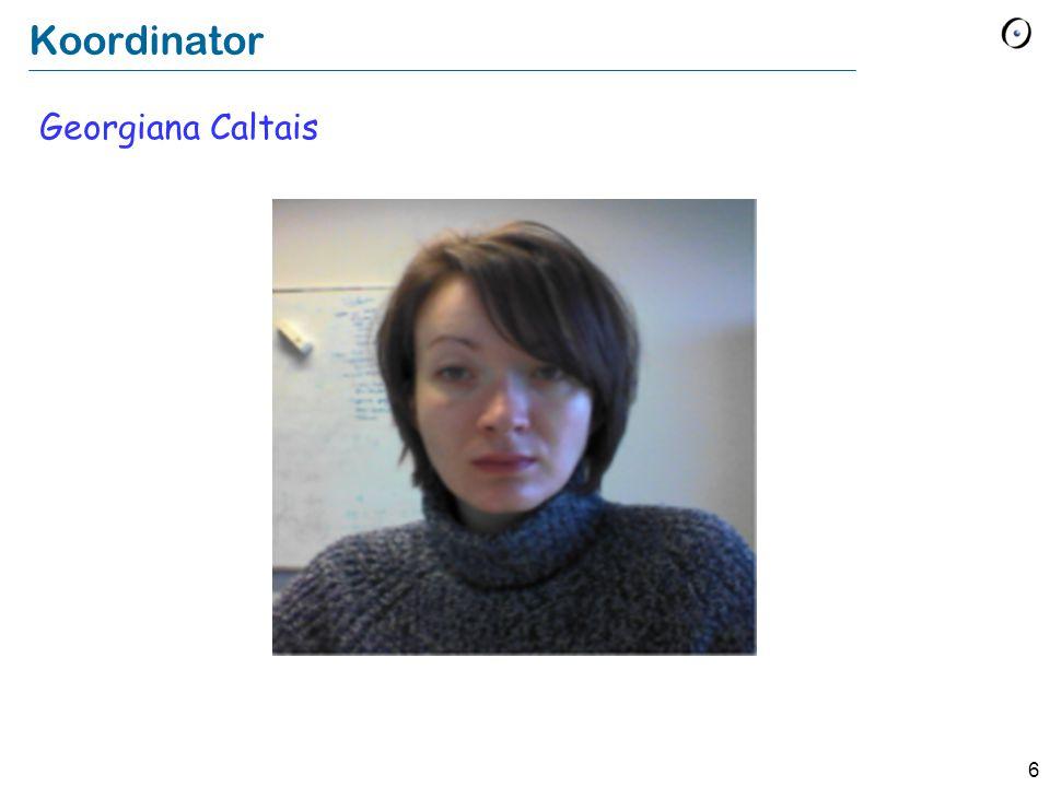 Koordinator Georgiana Caltais