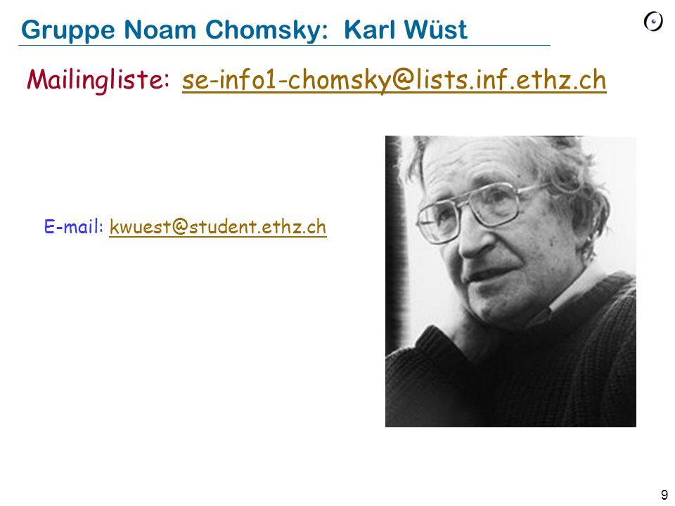 Gruppe Noam Chomsky: Karl Wüst