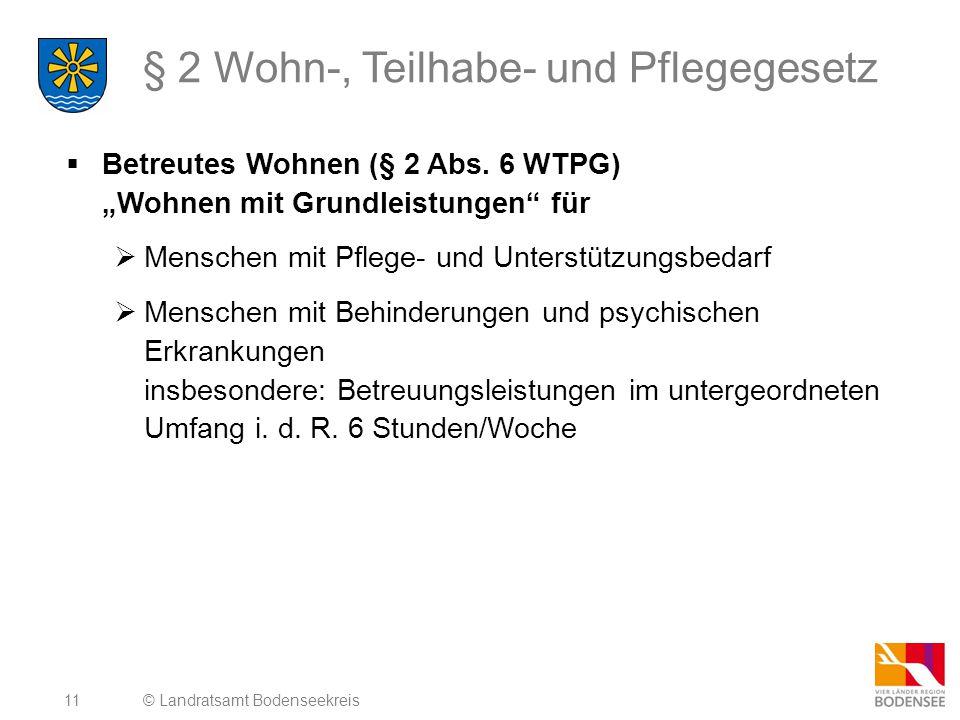§ 2 Wohn-, Teilhabe- und Pflegegesetz