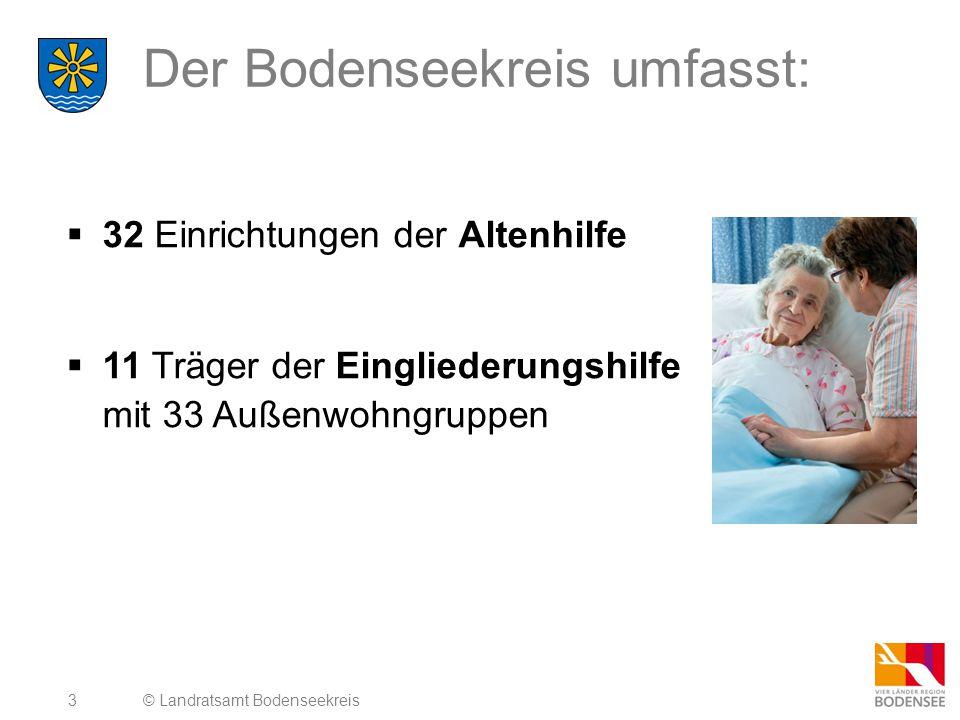 Der Bodenseekreis umfasst: