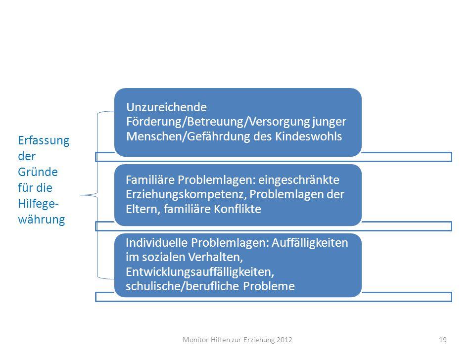 Monitor Hilfen zur Erziehung 2012