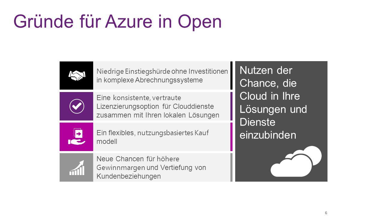 Gründe für Azure in Open