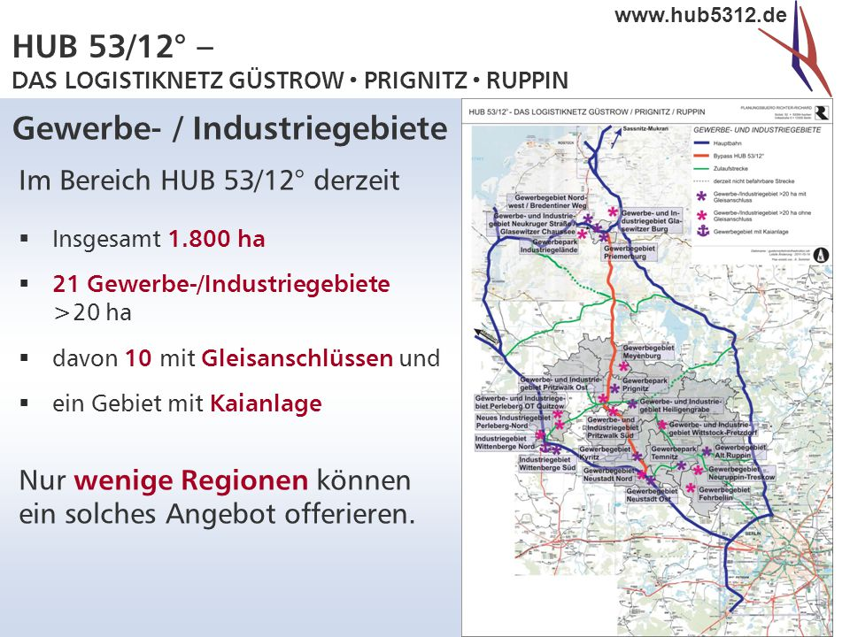Gewerbe- / Industriegebiete