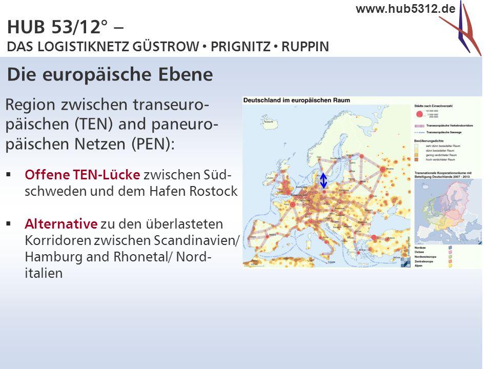 Die europäische Ebene Region zwischen transeuro-
