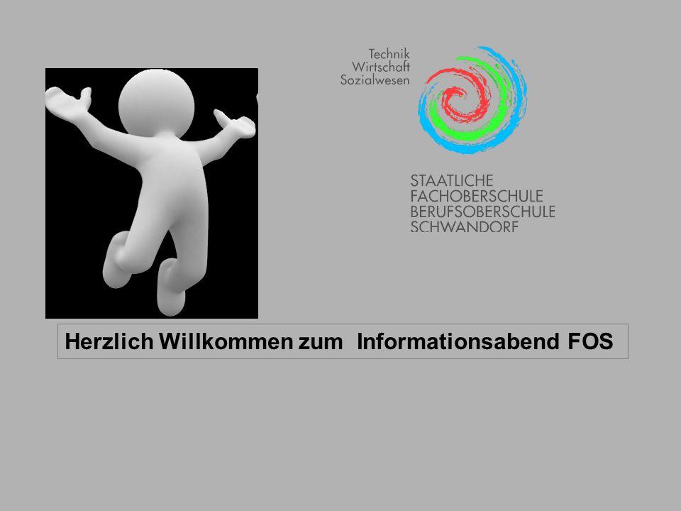 Herzlich Willkommen zum Informationsabend FOS