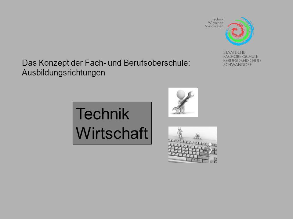 Technik Wirtschaft Das Konzept der Fach- und Berufsoberschule: