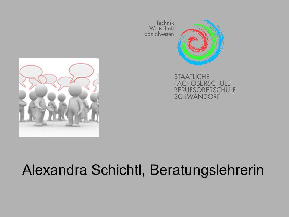 Alexandra Schichtl, Beratungslehrerin