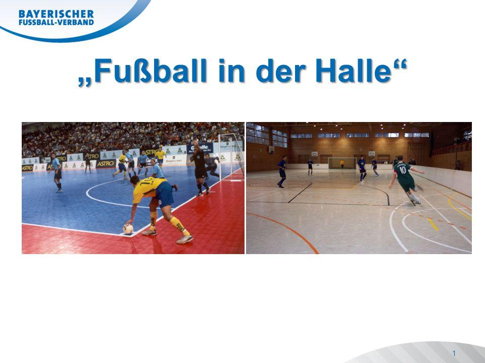 """""""Fußball in der Halle"""