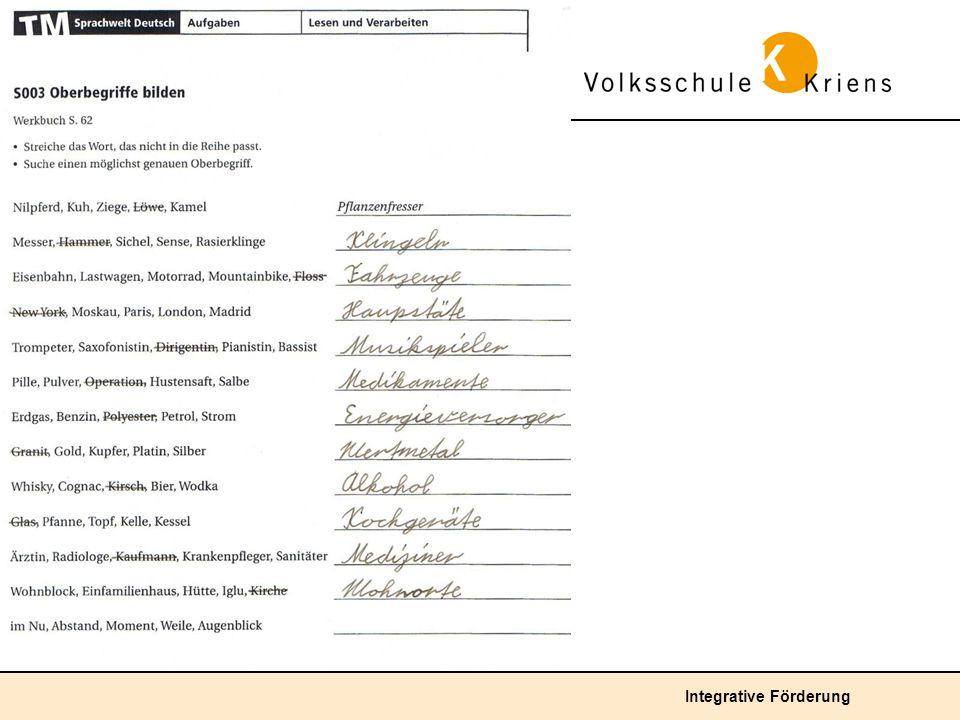 Deutsch: Erweiterte Fragestellung für stärkere SuS 1