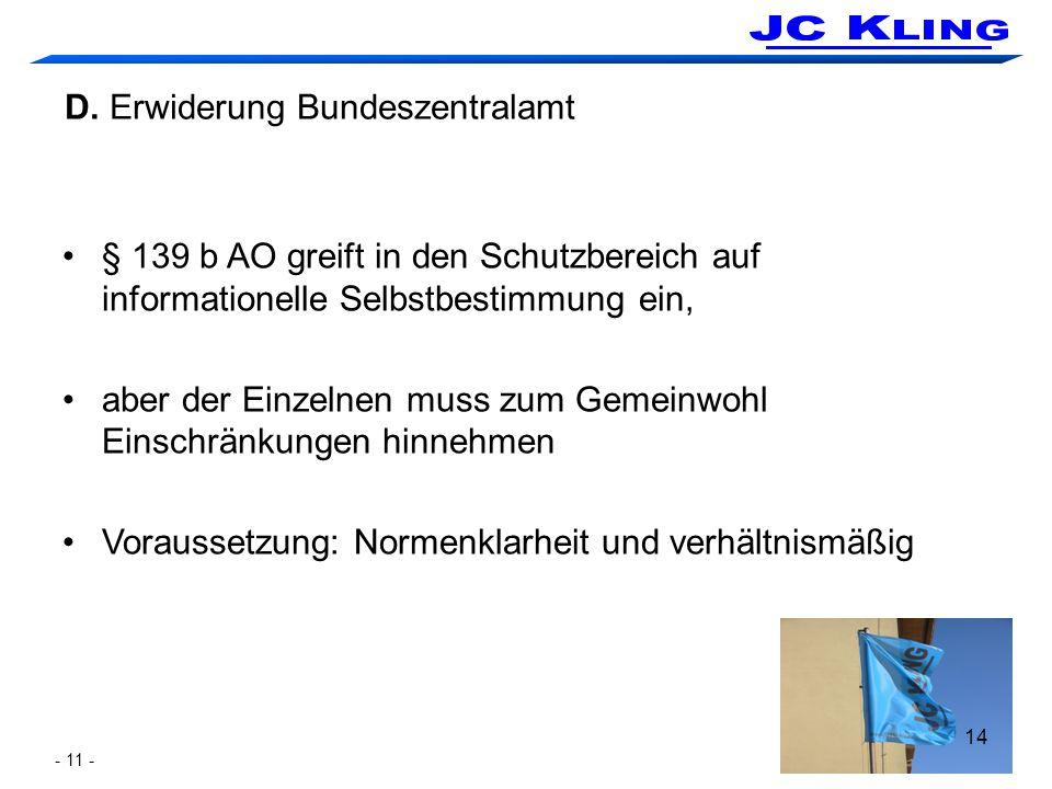 Mündliche Verhandlung am 7. Juli beim FG Köln